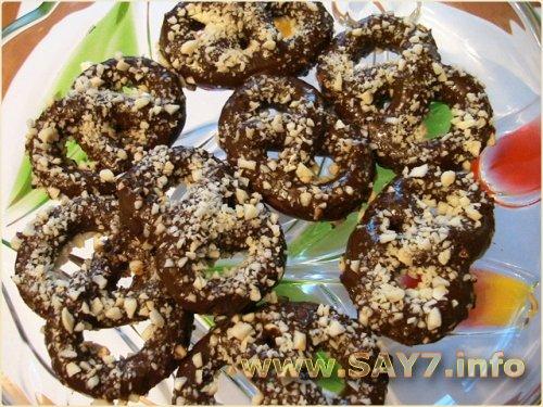 Шоколадные крендельки