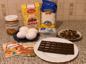 Кекс с арахисовым маслом. Ингредиенты