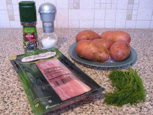 Картошка-гармошка. Ингредиенты