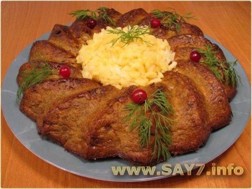 Суфле из куриной печени